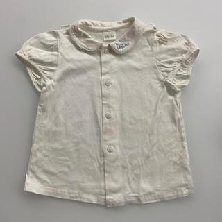 ベビーディオール(baby Dior)のbabyDior 白半袖シャツ(シャツ/カットソー)