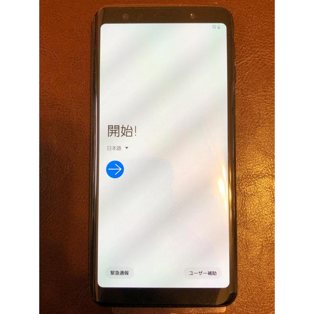 Galaxy(ギャラクシー)のGalaxy A7 楽天モバイル版(SIMフリー)ブラック スマホ/家電/カメラのスマートフォン/携帯電話(スマートフォン本体)の商品写真