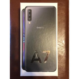 ギャラクシー(Galaxy)のGalaxy A7 楽天モバイル版(SIMフリー)ブラック(スマートフォン本体)