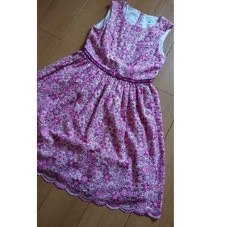 トッカ(TOCCA)のトッカ 150 ドレス 総刺繍 ワンピース 美品 140 0 S (ドレス/フォーマル)
