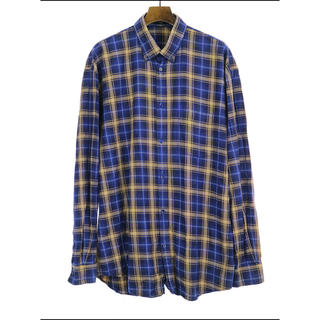 バレンシアガ(Balenciaga)の確実正規品【Balenciaga 18SS チェックシャツ 37】(シャツ)
