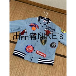 ナイキ(NIKE)のSupreme®/Nike®/NBA Teams Warm-Up Jacket(スタジャン)