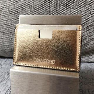 トムフォード(TOM FORD)のTom ford トムフォード ノベルティミラー カードケース (ミラー)