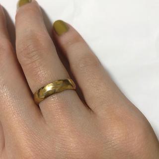 rin♡様専用☆pluie リフレクションリング 8号 ゴールド(リング(指輪))