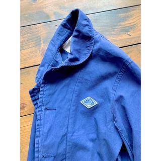 ダントン(DANTON)の希少 旧青ロゴ【DANTON】40 カバーオール インクブルー フレンチ  (カバーオール)