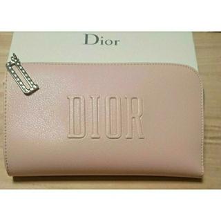 クリスチャンディオール(Christian Dior)のディオール 最新 ノベルティ クラッチ ポーチ 3つ ショッパー付き(その他)
