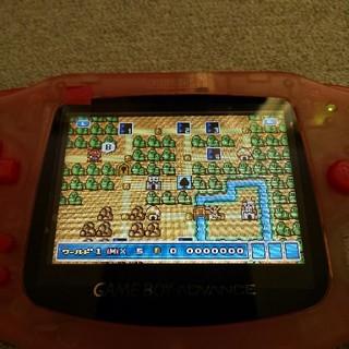 ゲームボーイアドバンス(ゲームボーイアドバンス)の専用出品GBAバックライト液晶IPSv2(携帯用ゲーム機本体)