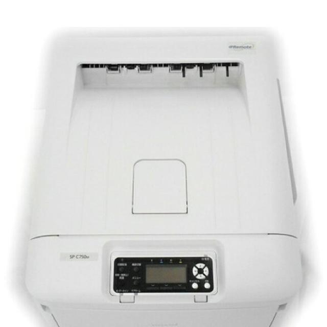 RICOH(リコー)の最終値下げ 中古美品 RICOH SP C750 カラーレーザープリンター A3 スマホ/家電/カメラのPC/タブレット(PC周辺機器)の商品写真
