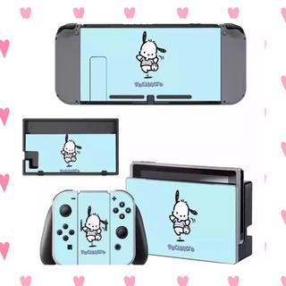 ニンテンドースイッチ(Nintendo Switch)のポチャッコ サンリオ スキンシール Switch スイッチ (携帯用ゲーム機本体)