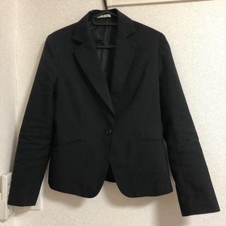 シマムラ(しまむら)のしまむら  ストライプスーツジャケット  L(テーラードジャケット)