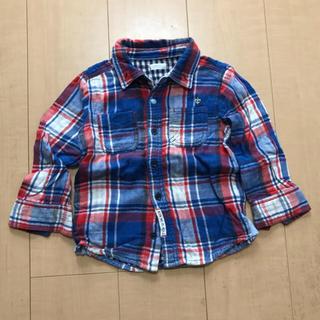 チェックシャツ☆100(Tシャツ/カットソー)