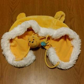 ディズニー(Disney)のプーさんの暖か帽子【美品】(帽子)