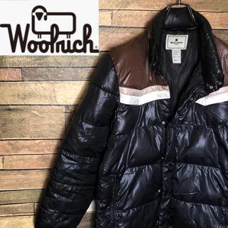 ウールリッチ(WOOLRICH)の【激レア】ウールリッチ ナイロンジャケット 希少なデザイン☆人気のブラック☆(ナイロンジャケット)