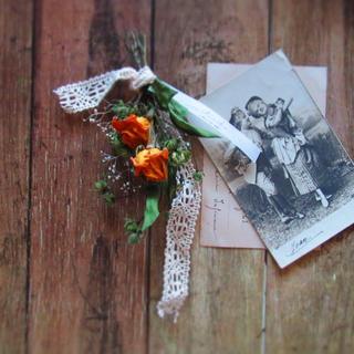 母の日♡小さなバラのブーケ キナリ(ブーケ)