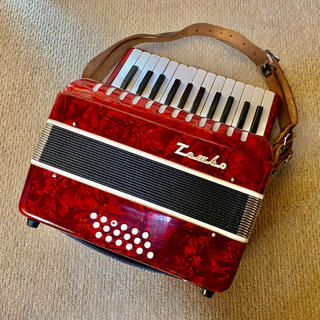 TOMBO accordion アコーディオン 中古(アコーディオン)