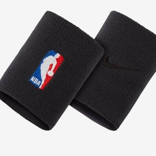 ナイキ(NIKE)の新品 NIKE ナイキ NBA バスケットボール ELITE リスト バンド 黒(バングル/リストバンド)