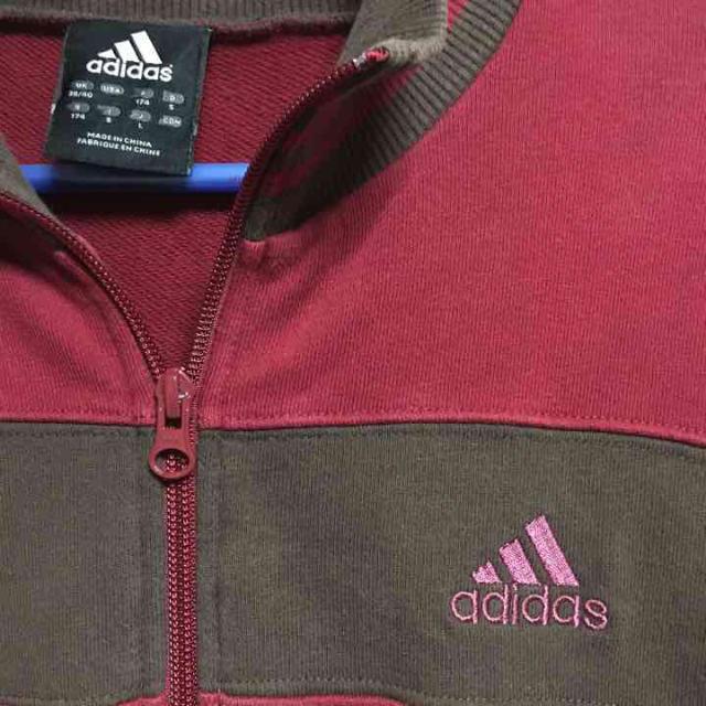 値下 ヴィンテージアディダス フルジップ メンズのトップス(スウェット)の商品写真