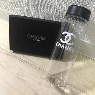 シャネル(CHANEL)の即購入❌CHANEL タンブラー 黒クリア(タンブラー)