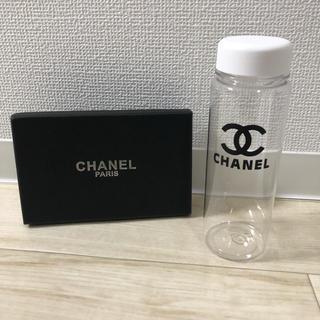 シャネル(CHANEL)の即購入❌CHANEL タンブラー 白クリア(タンブラー)