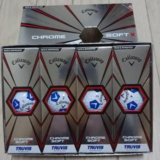 キャロウェイ(Callaway)のキャロウェイ ゴルフボール クロムソフトX 白×青 1ダース 新品未使用(その他)