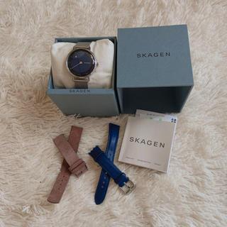 SKAGEN - SKAGEN レディース 腕時計 ベルト+2本