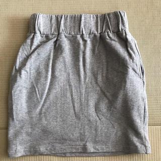 デュラス(DURAS)の膝丈スカート スウェット(ひざ丈スカート)