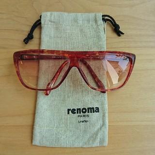 レノマ(RENOMA)のrenoma🕶️サングラス🕶️鼈甲風合い色(サングラス/メガネ)