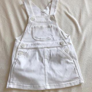 ムジルシリョウヒン(MUJI (無印良品))のジャンパースカート  80 サロペット(スカート)