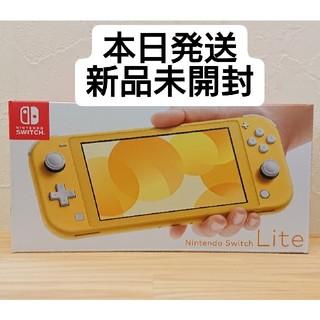 ニンテンドースイッチ(Nintendo Switch)のNintendo Switch Lite 本体 イエロー(携帯用ゲーム機本体)