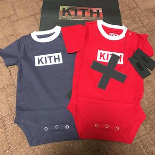 シュプリーム(Supreme)の日本未入荷 ボックスロゴ kith ロンパース(その他)