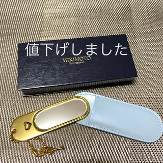 ミキモト(MIKIMOTO)の【未使用】MIKIMOTO 手鏡(ミラー)