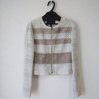 ビーシービージーマックスアズリア(BCBGMAXAZRIA)のジャケット(ライダースジャケット)