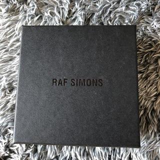 ラフシモンズ(RAF SIMONS)のRAF SIMONS SHINY SILVER TAB RING 14号(リング(指輪))