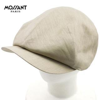 キャスケット ベレー帽 メンズ ブランド ベージュ 58 013/新品(キャスケット)