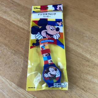 ディズニー(Disney)のディズニー デジタルウオッチ ミッキー Mickey Mouse 腕時計(腕時計)