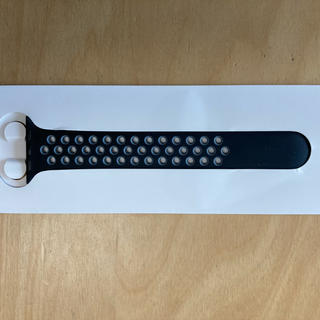 アップルウォッチ(Apple Watch)の純正Apple Watch Nike band バンド 黒/グレー(片側)(腕時計(デジタル))