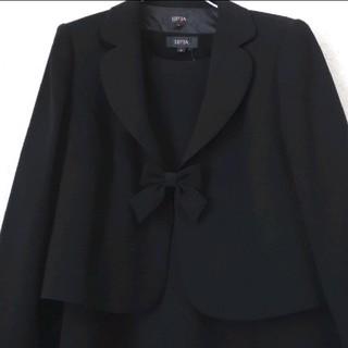 シマムラ(しまむら)の大きいサイズ★21号★喪服 礼服 七分袖 ブラックフォーマル ワンピース(礼服/喪服)