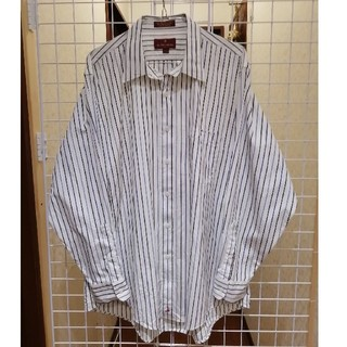 フレームワーク(FRAMeWORK)のストライプシャツ 古着(シャツ)