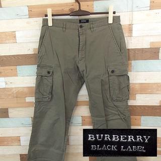 バーバリー(BURBERRY)の【BURBERRY BLACK LABEL】 美品 バーバリーブラックレーベル(ワークパンツ/カーゴパンツ)