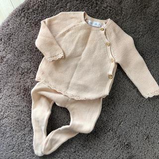 ザラ(ZARA)の子供服2着目半額‼️ZARA Baby ニットセットアップ 3-6M(ニット/セーター)