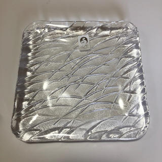 トウヨウササキガラス(東洋佐々木ガラス)の朝霧 銘々皿セット 5枚 新品(食器)