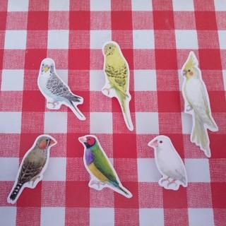 フェリシモ(FELISSIMO)のフェリシモ 小鳥クリップ 6個セット(その他)
