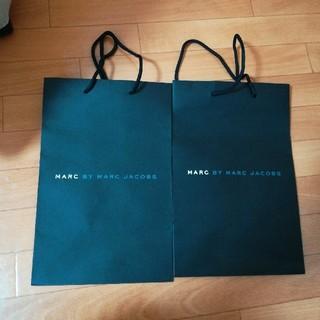 マークバイマークジェイコブス(MARC BY MARC JACOBS)のマークジェイコブス 紙袋 ショップ袋 2枚(ショップ袋)