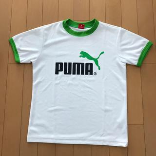 プーマ(PUMA)のPUMA 半袖Tシャツ 男児140 白(Tシャツ/カットソー)