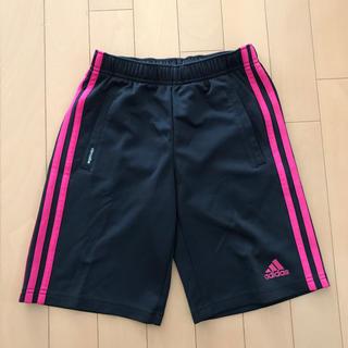 アディダス(adidas)のadidas ハーフパンツ 女児130 黒(パンツ/スパッツ)