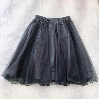 クチュールブローチ(Couture Brooch)のチュールスカート(ひざ丈スカート)