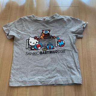 アベイシングエイプ(A BATHING APE)の♡ BAPE ♡ MILO × kitty Tシャツ 100センチ♡(Tシャツ/カットソー)