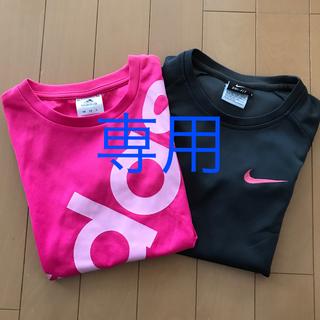アディダス(adidas)のadidas 半袖Tシャツ 女児140(Tシャツ/カットソー)