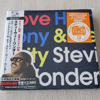 Stevie Wonder Love Harmony&Eternity CD(R&B/ソウル)