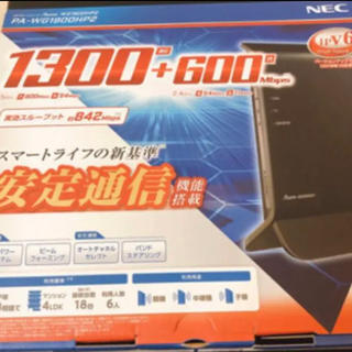 エヌイーシー(NEC)のNEC PA-WG1900HP2(PC周辺機器)